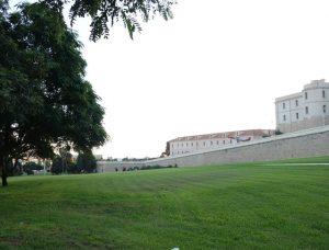 89 Park vor der Uni