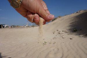 56 feinster Sand
